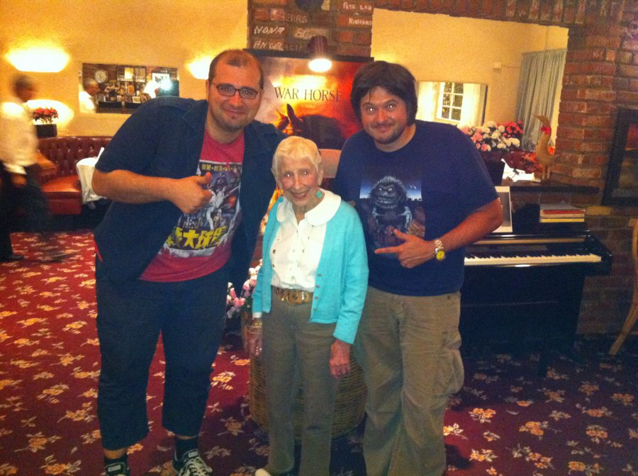6A-con Paco Cabezas y madre Spielberg, 2012