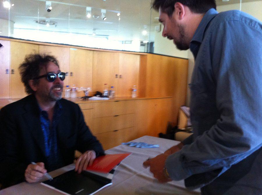 5B-con Tim Burton, LA, 2011