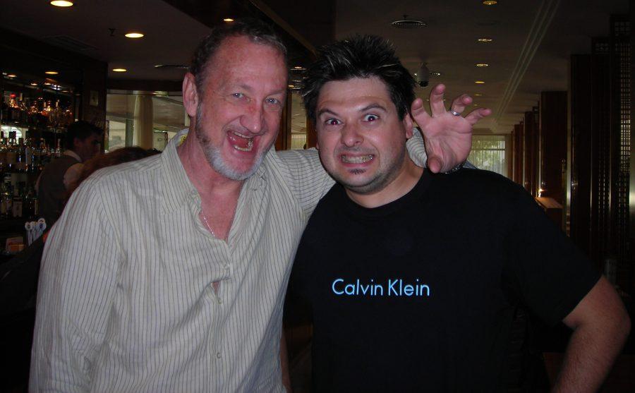 2007 con Robert Englund, Sitges