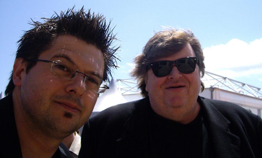 40A-2008 con Michael Moore, Cannes