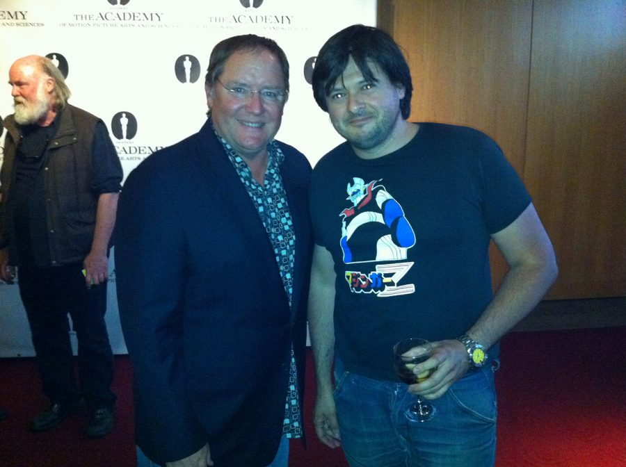 5J-con John Lasseter, Beverly Hills, 2012
