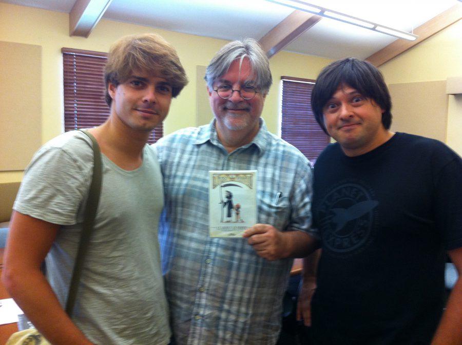6B-con Matt Groening y Javi Recio, 2012