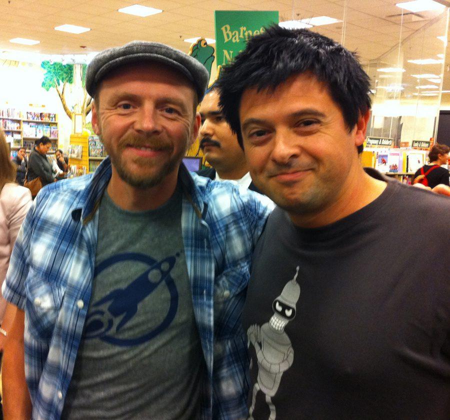 6J-con Simon Pegg, 2011