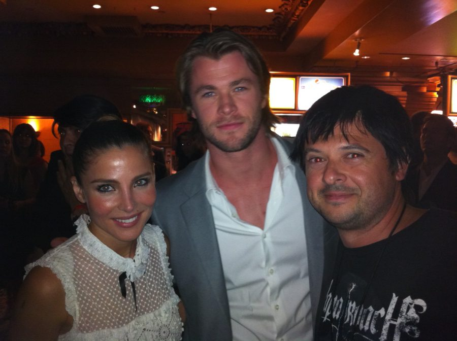 7N-con Elsa Pataky y Thor, 2011