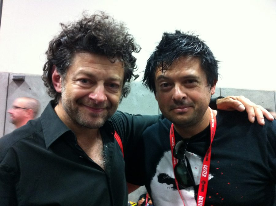 Comic Con, con Andy Serkis, 2011