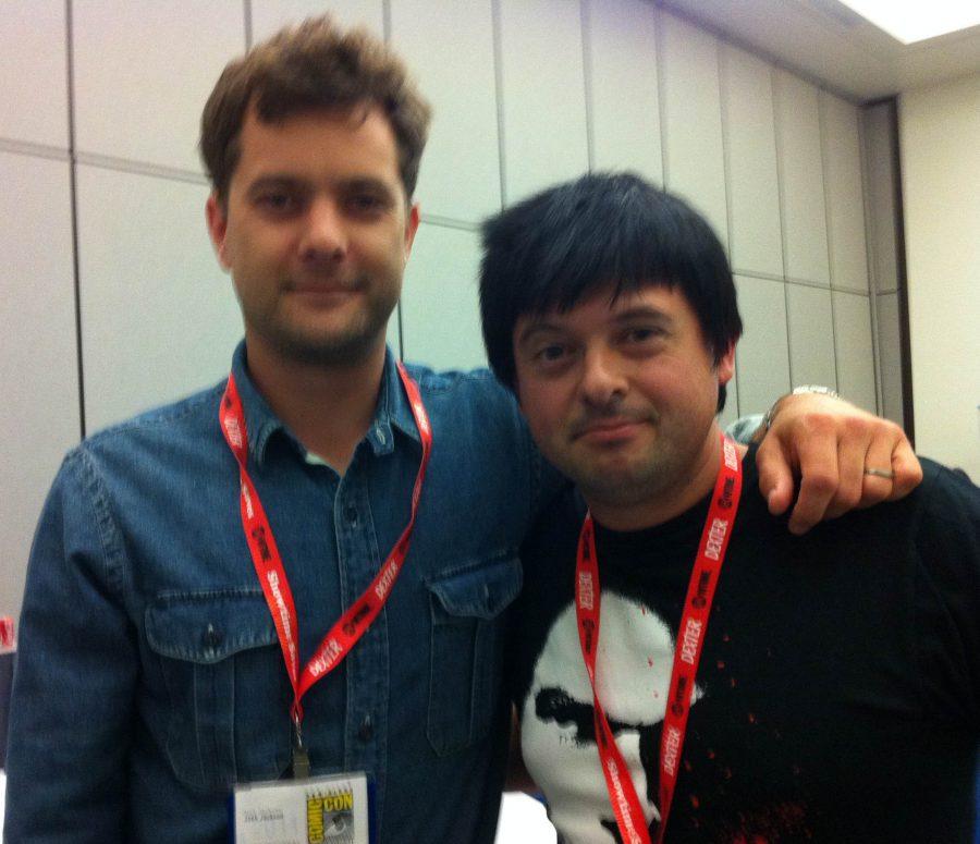 Comic Con con Joshua Jackson, 2011
