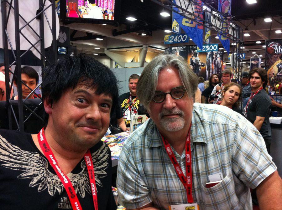 Comic Con con Matt Groening, 2011