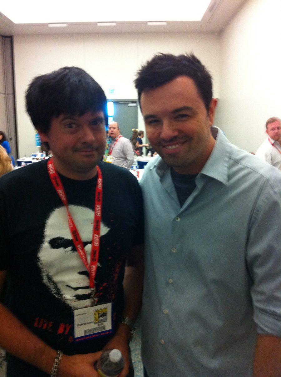 Comic Con con Seth MacFarlane, 2011