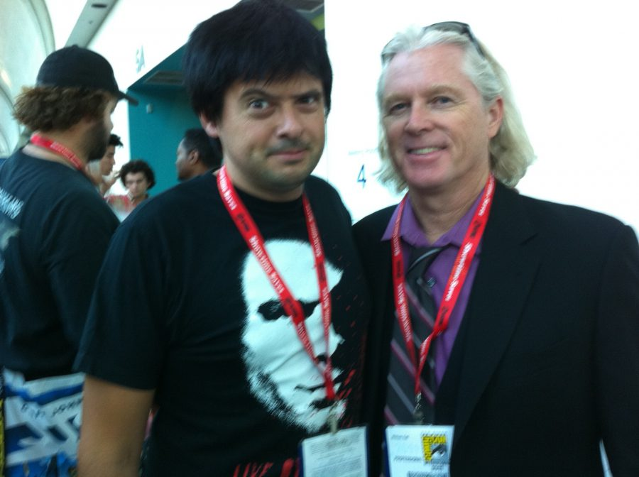 Comic Con con William Katt, 2011