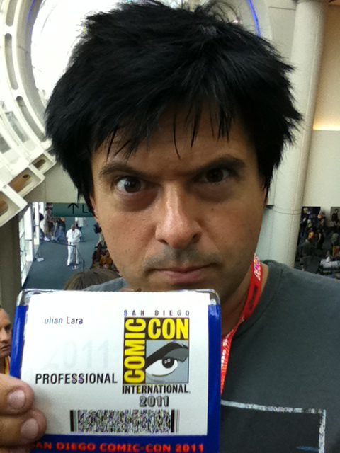 Comic Con credential 2011