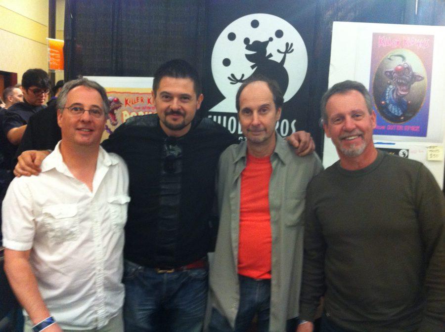 con Chiodo Bros, Burbank, 2011