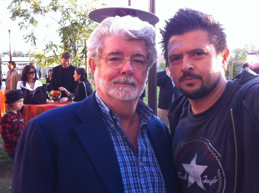 con George Lucas, 2011 copia