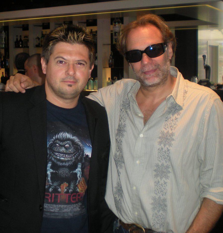 con Greg Nicotero, Sitges