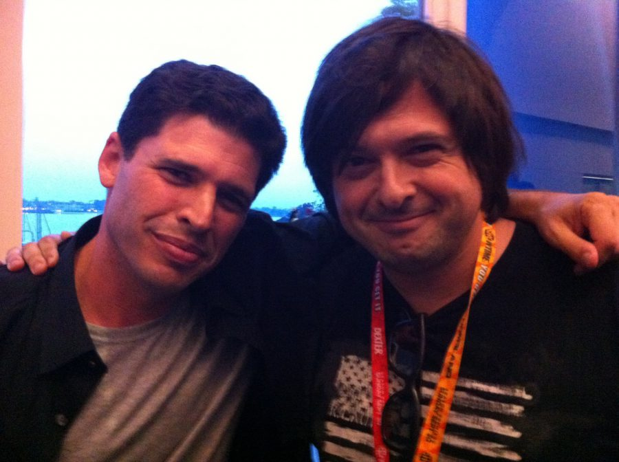 con Max Brooks, Comic con, 2012