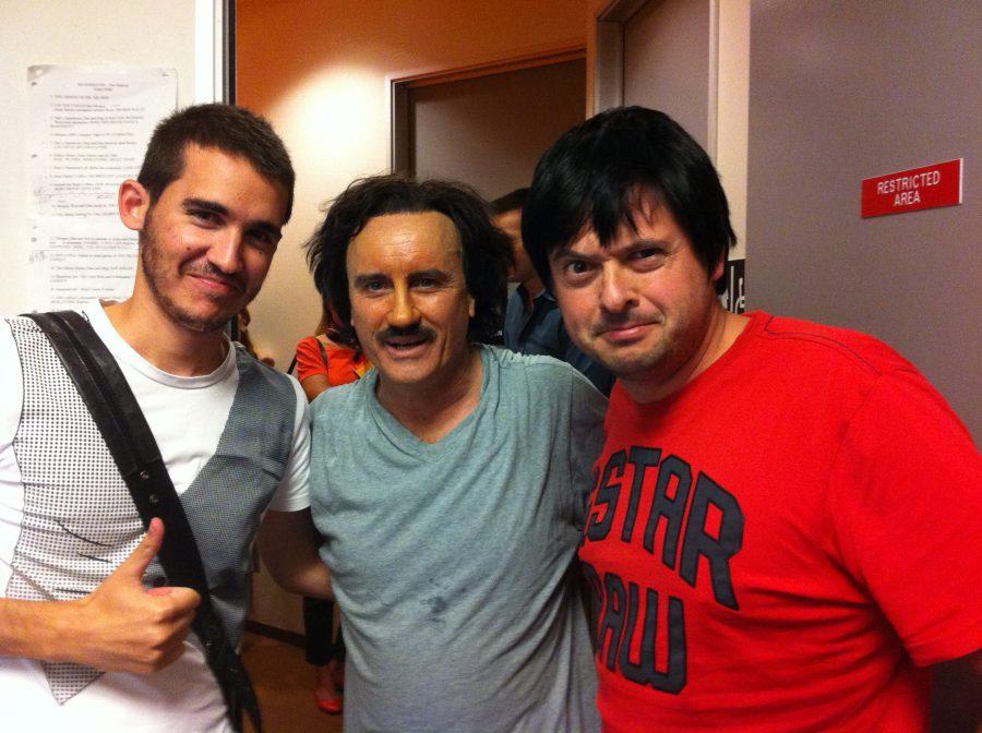 con Pablo y Jeffrey, 2011