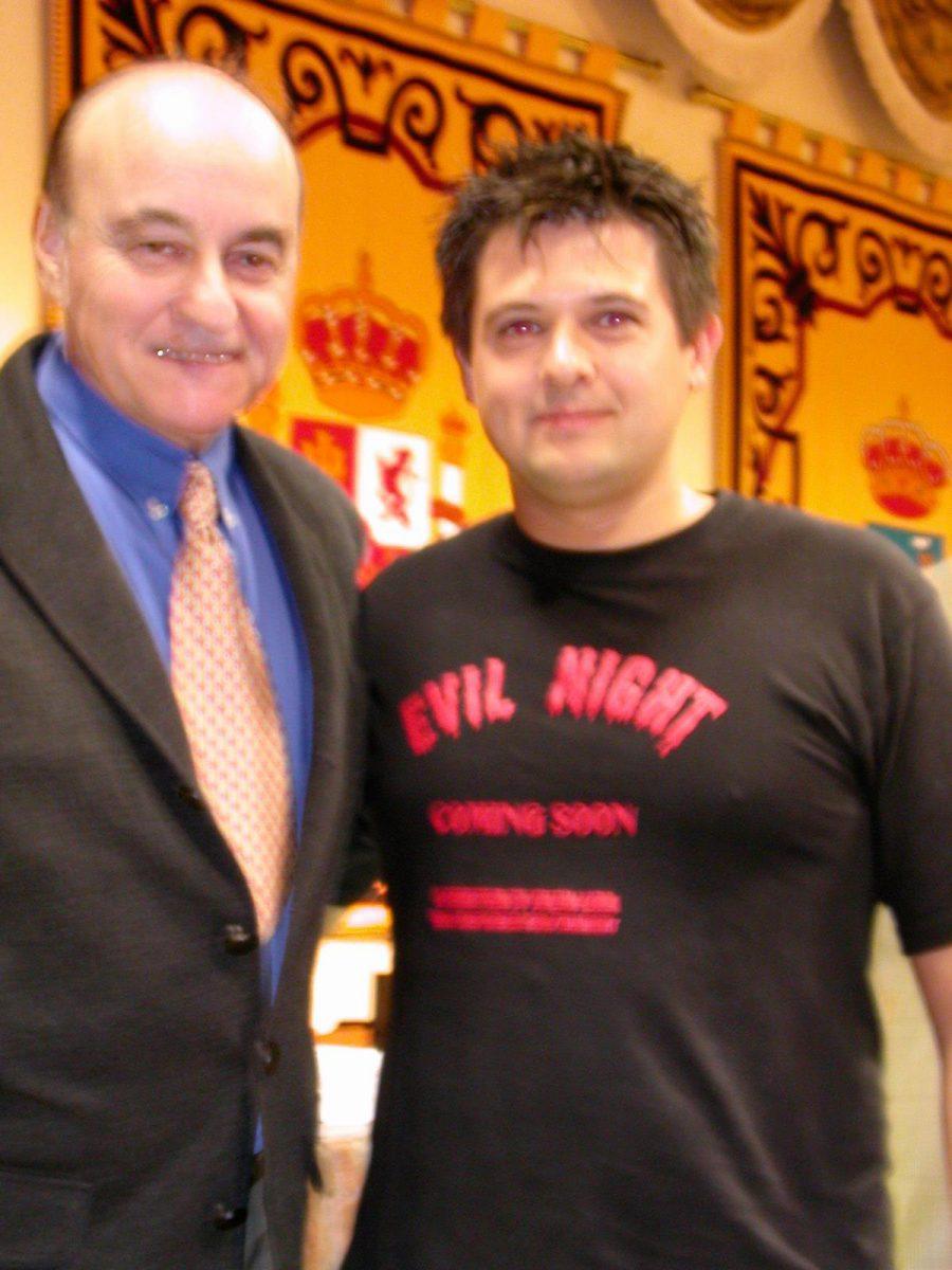 con Paul Naschy 2002