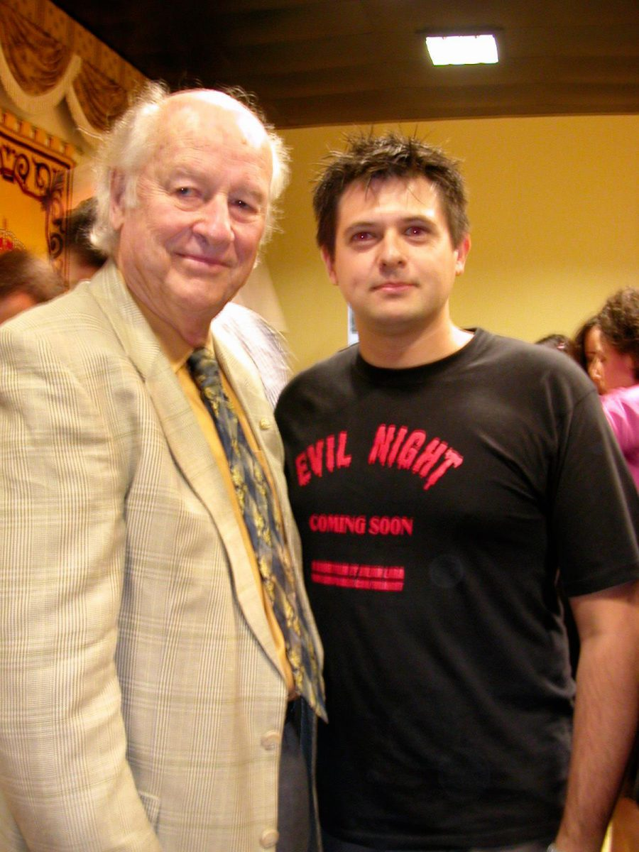 con Ray Harryhausen 2002