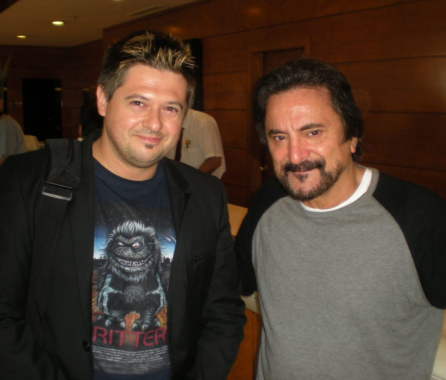 con Tom Savini, Sitges