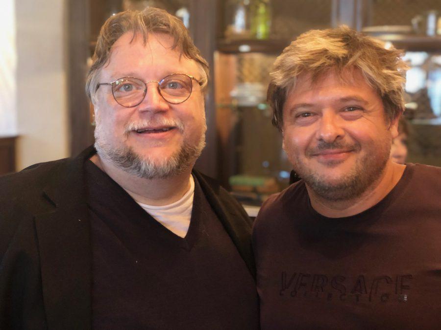Guillermo del Toro and Julian Lara