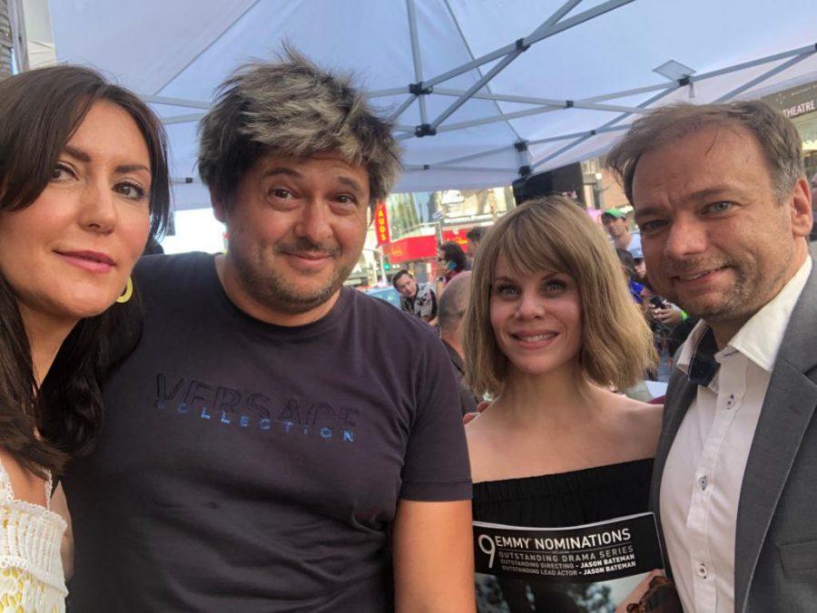 Lani Rico, Julian Lara, Andre Ovredal and his wife